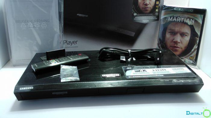 Samsung UBD-K8500 kasse indhold