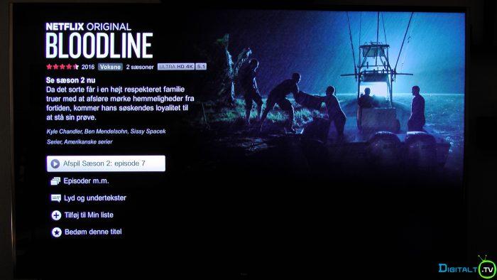 TCL S79 Netflix app
