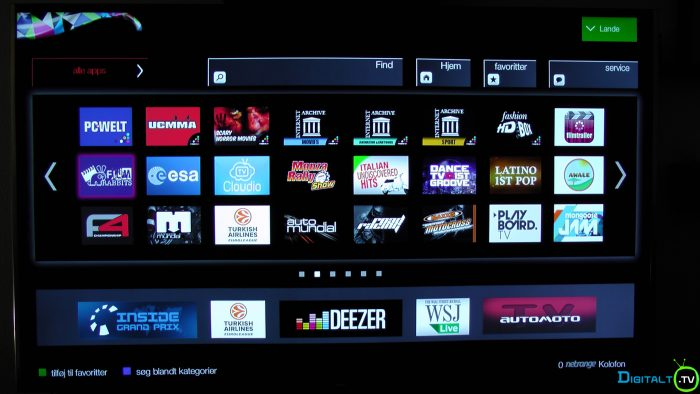 TCL S79 Smart TV apps