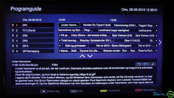 TCL S79 TV guide