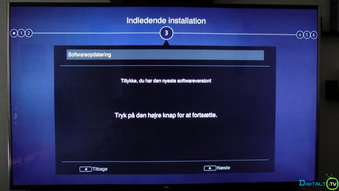 TCL S79 installation ny software tjek