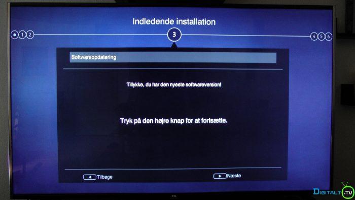 TCL S79 installation ny software tjek
