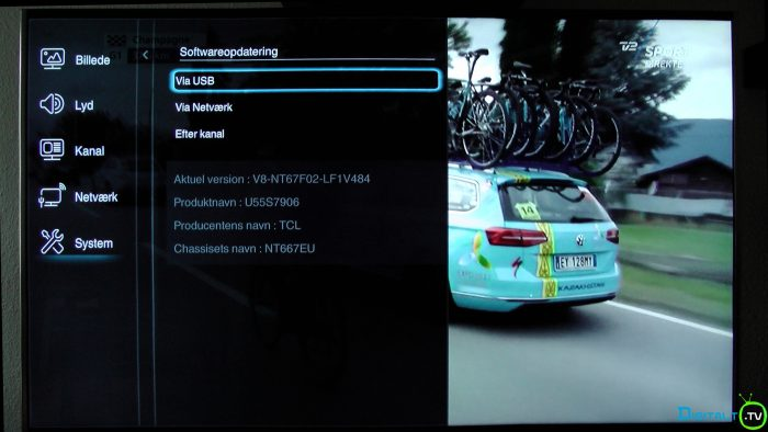 TCL S79 softwareopdatering version