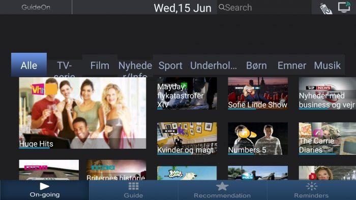 TCL nScreen guideon