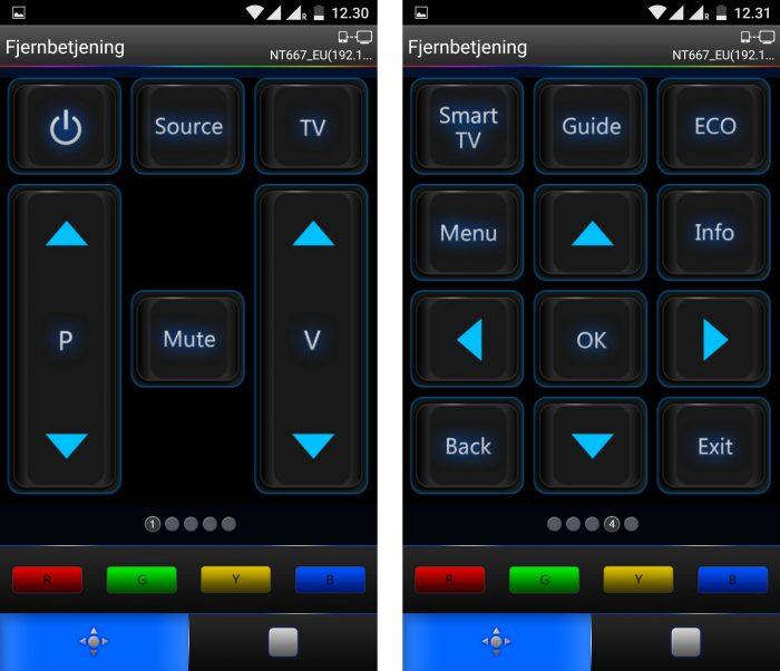 TCL nScreen remote