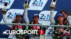 Foto af Eurosport har sikret sig Tom Kristensen som Le Mans-ekspert