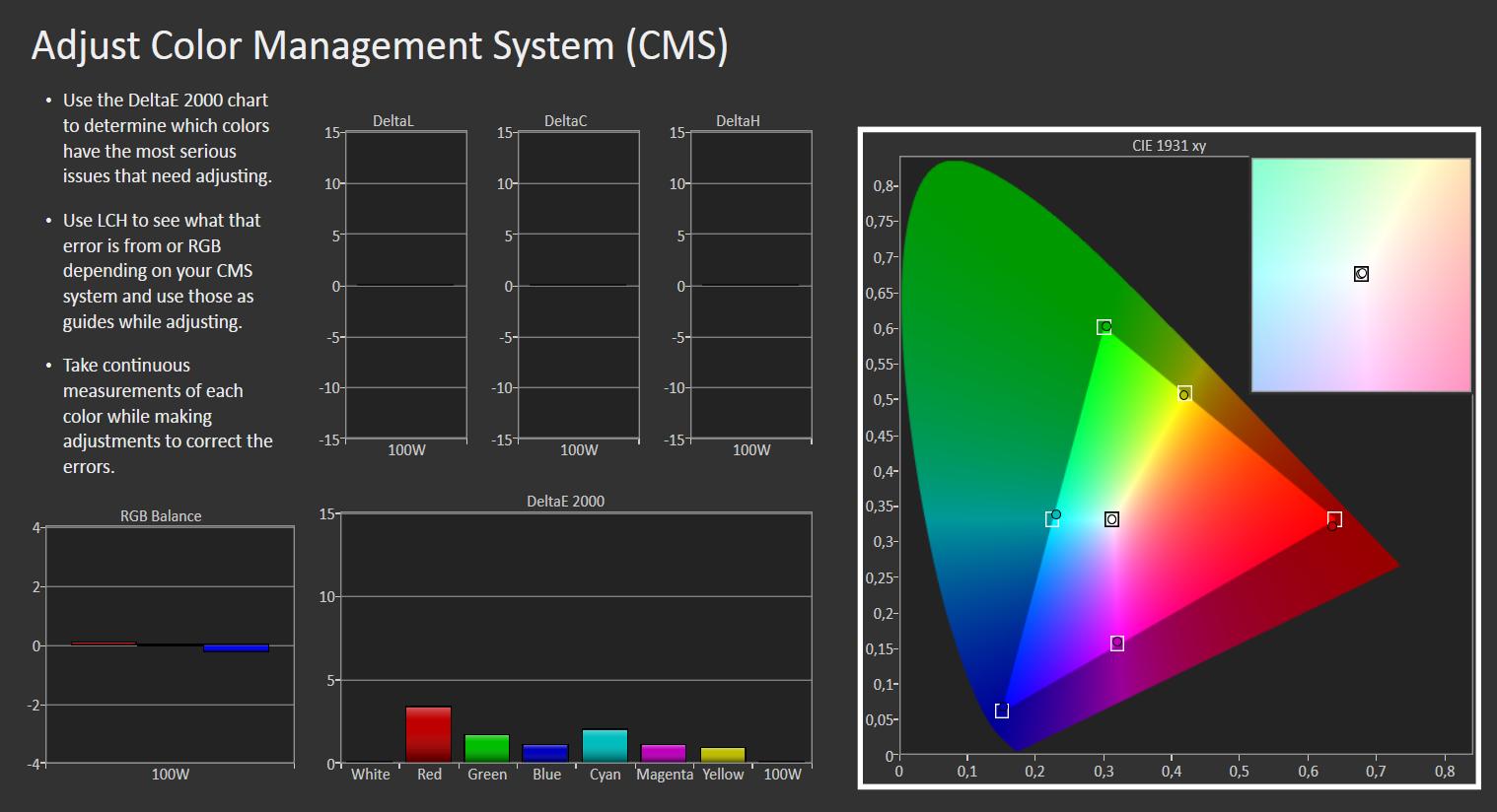 Samsung KS 7005 farver Rec709