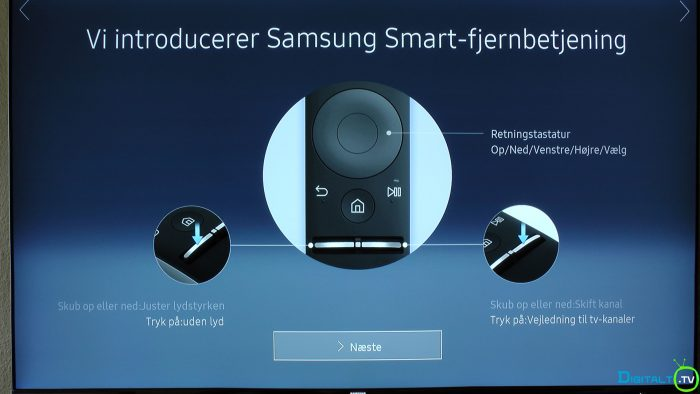 Samsung KS7005 Smart Fjernbetjening intro