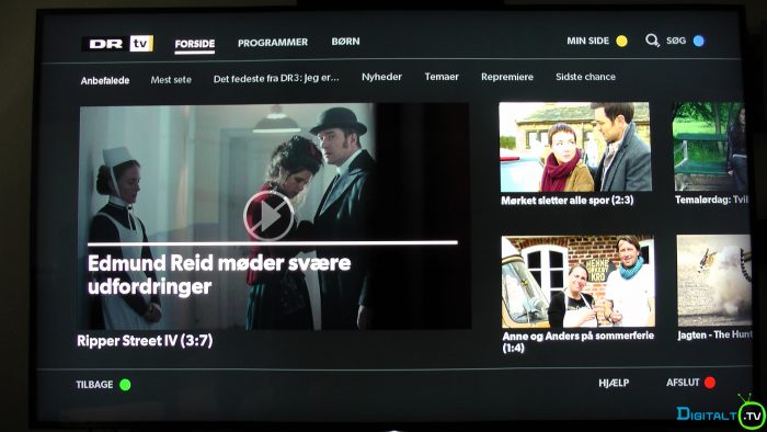 Sony XD9305 DR TV app
