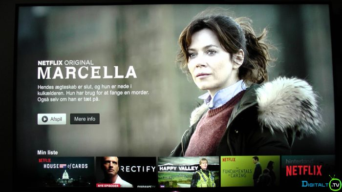 Sony XD9305 Netflix