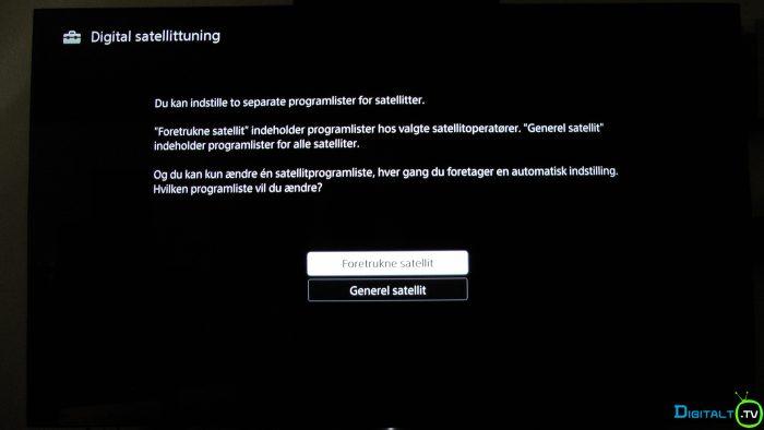 Sony XD9305 installation sattuning