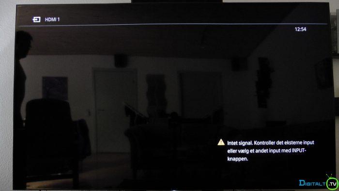 Sony XD9305 screen spejl