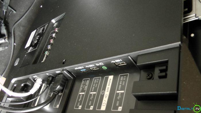Sony XD9305 tilslutninger USB