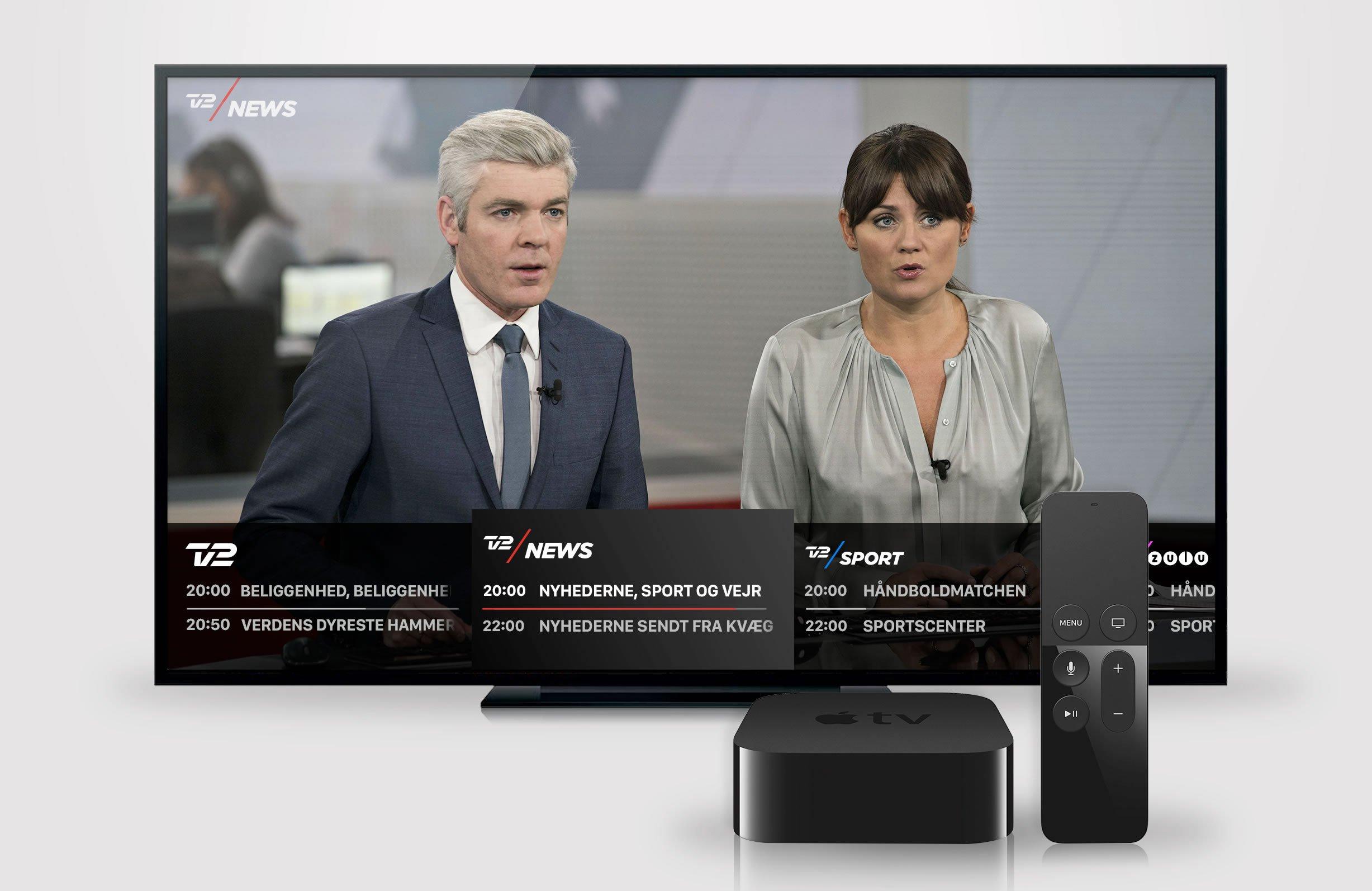 TV 2 PLAY paa Apple TV