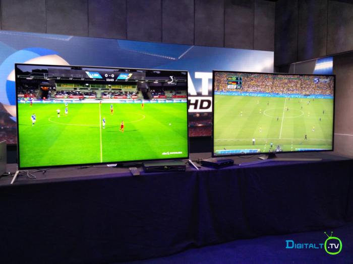 Viasat Ultra HD demo