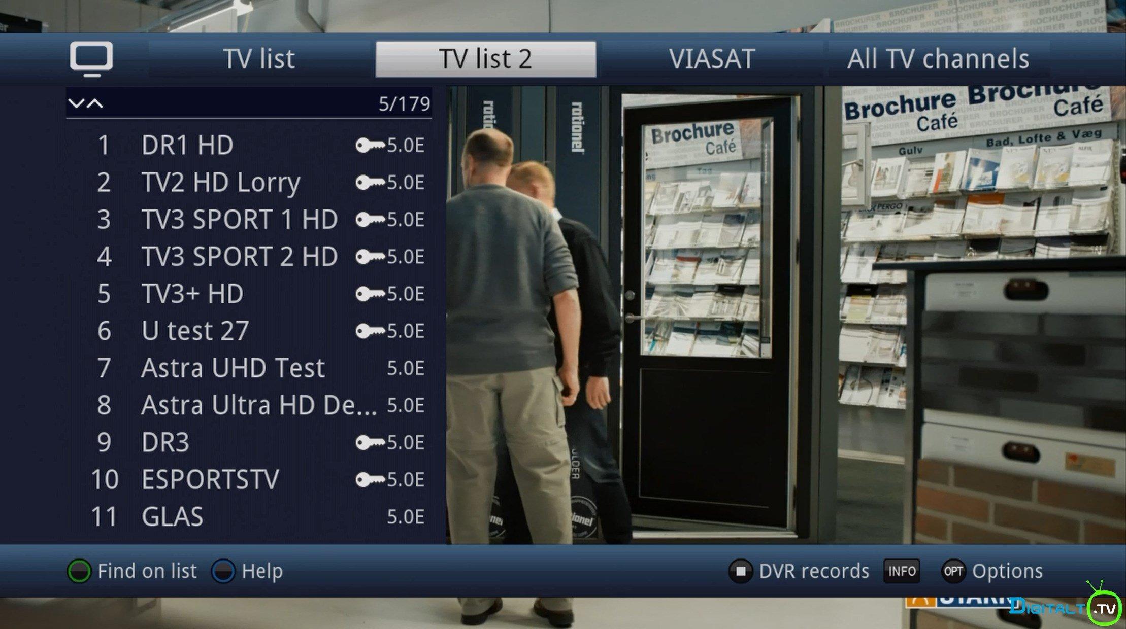 canal digital godkendte tv