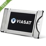 Viasat kortlæsermodul test