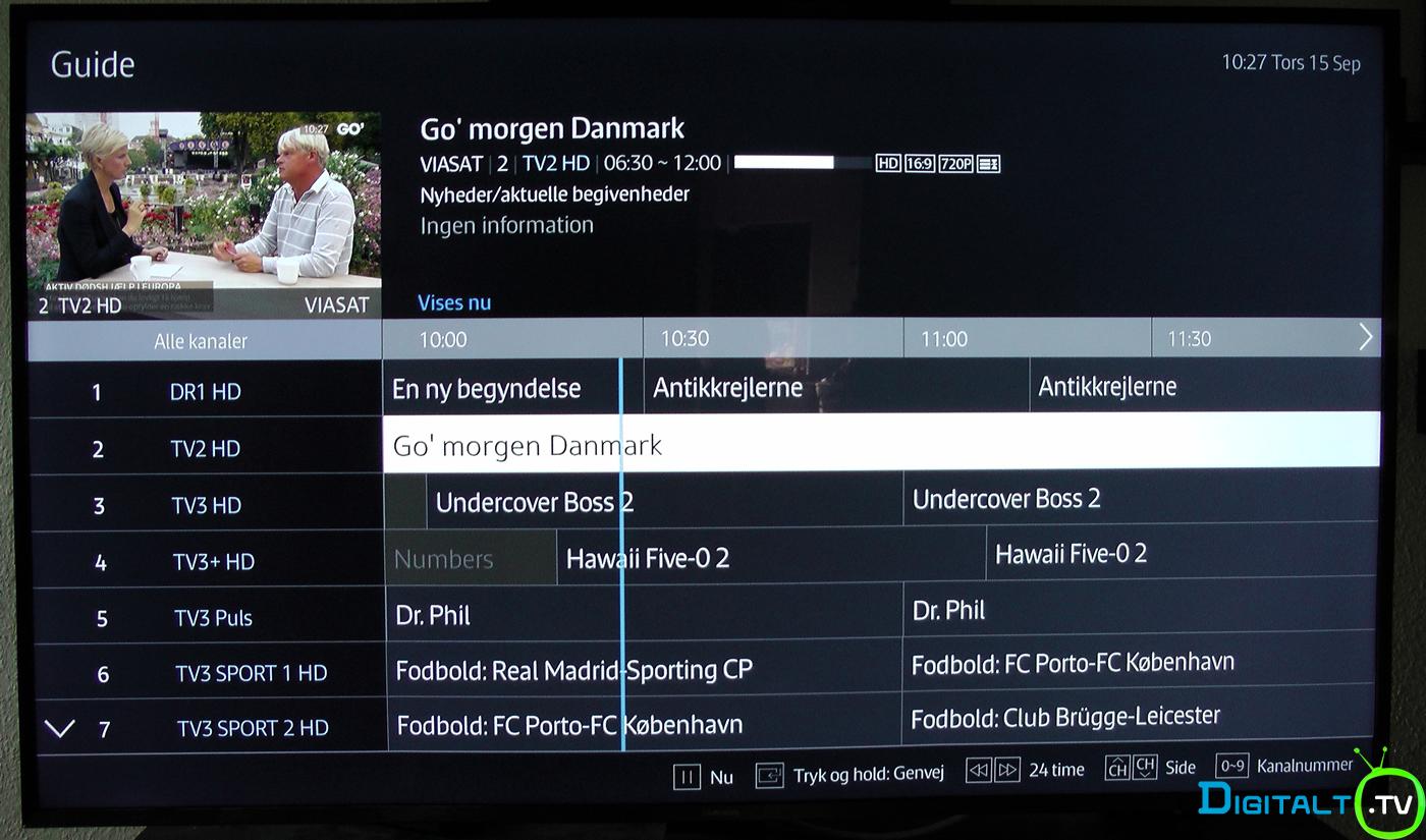 viasat tv guide se