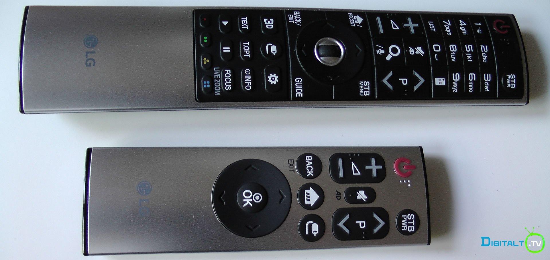 lge6v fjernbetjeninger