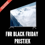 Før Black Friday TV Pristjek