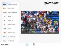 Foto af SAT-IP TV app klar til Apple TV og iOS