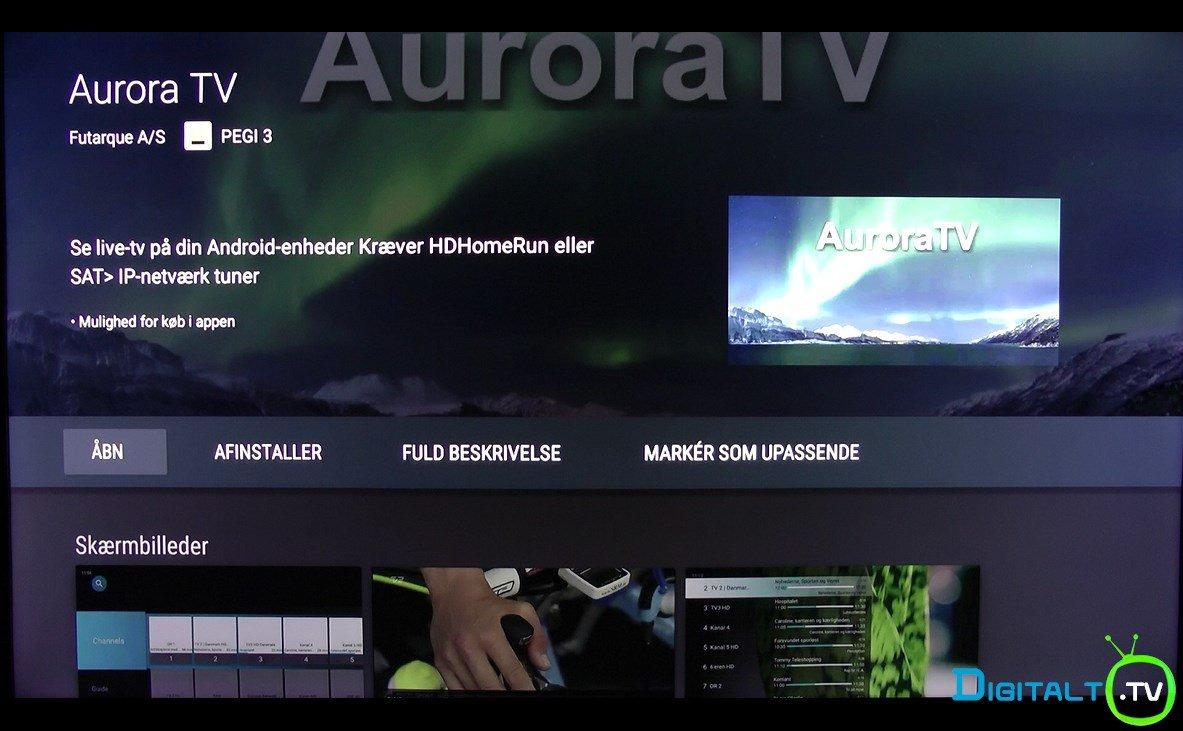 Aurora install