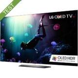 Foto af LG B6V OLED TV test