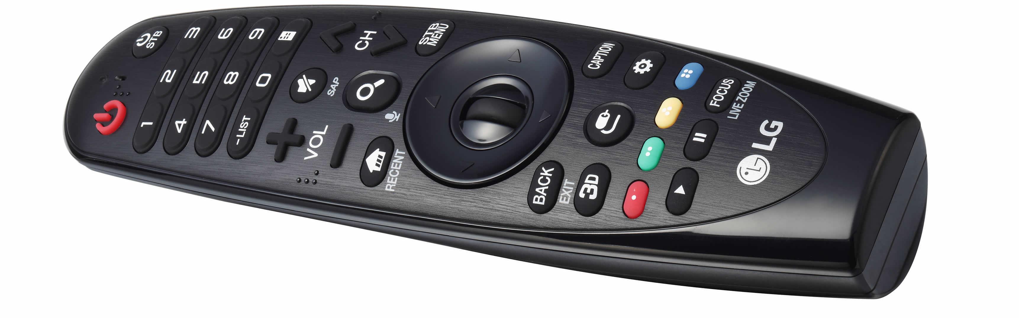 LG B6V OLED remote