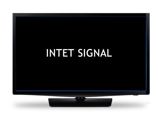 intet signal tv
