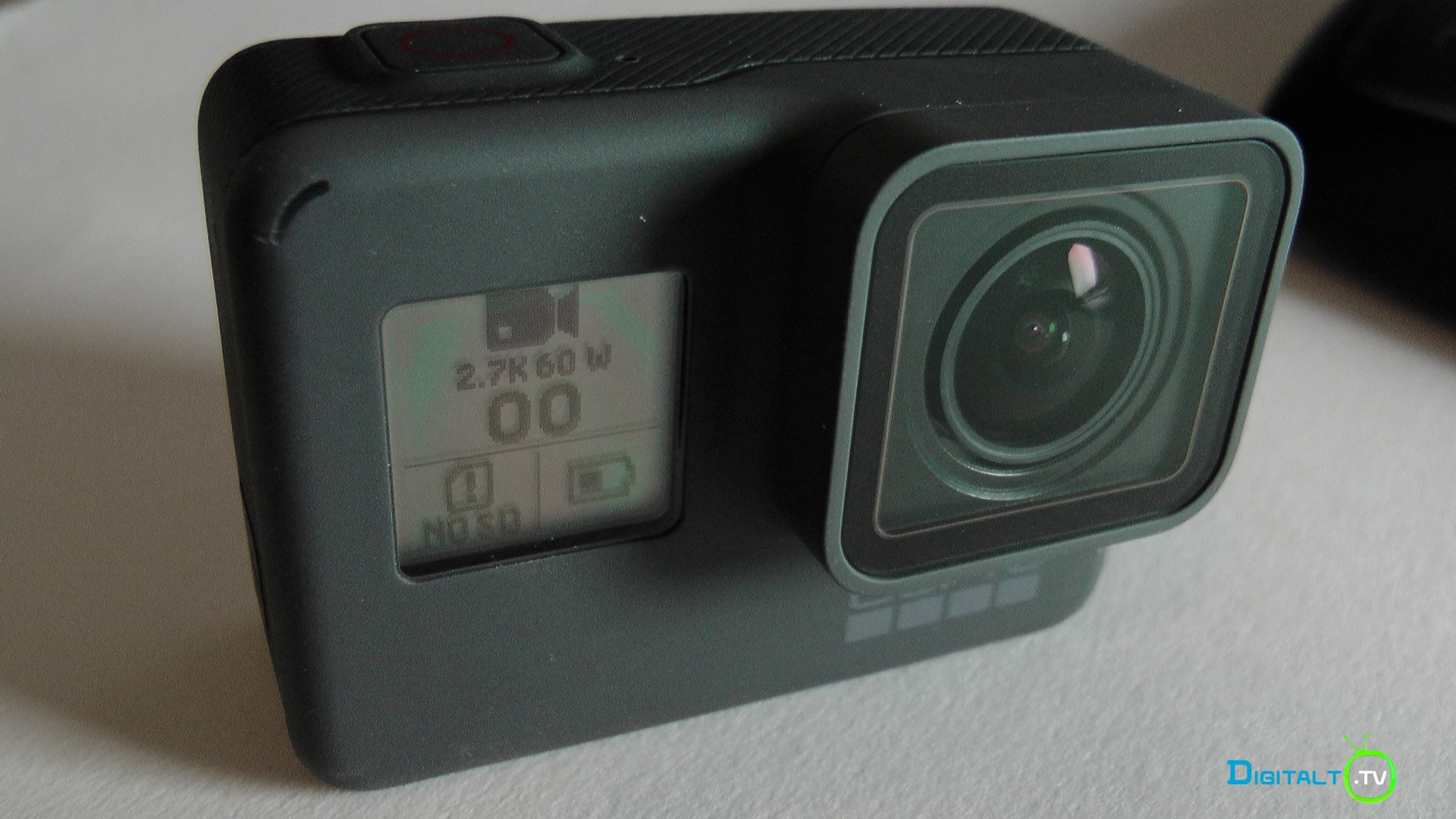 GoPro Hero 5 Black front display