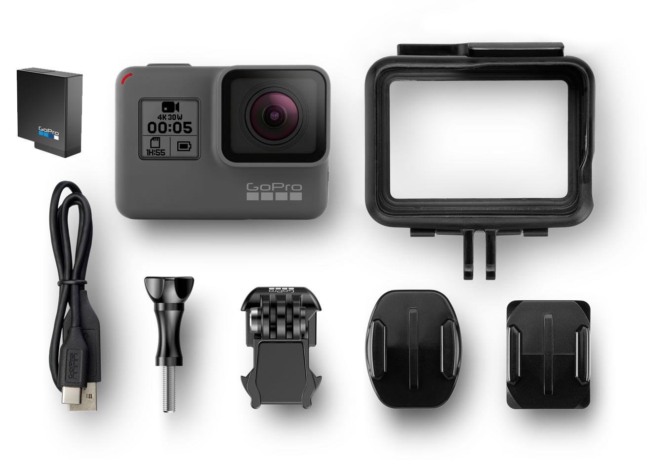 GoPro Hero5 Black med i kassen