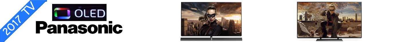2017 TV Panasonic OLED TV oversigt