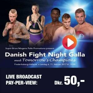Danish Fight Night boksning 11/02/17