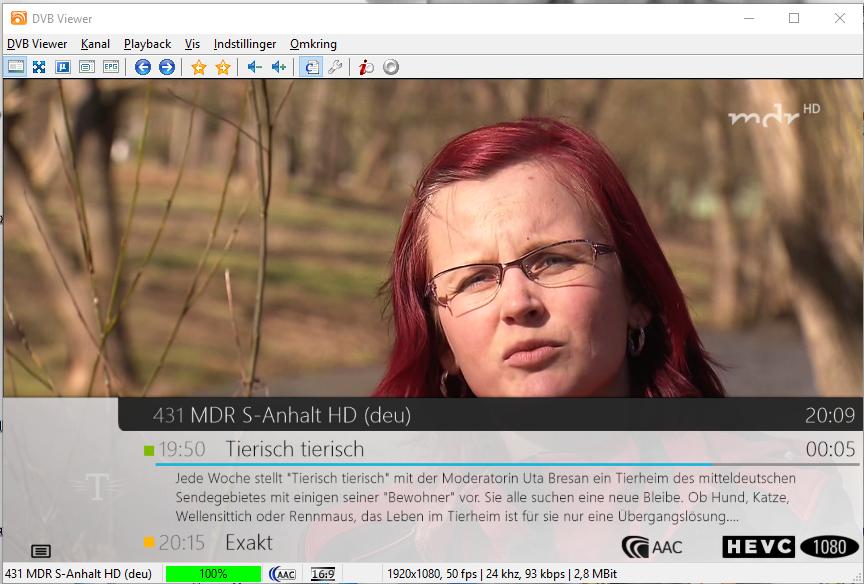 Tysk DVB-T2 DVBViewer