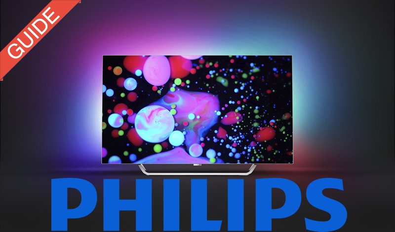 Philips 2017 TV guide