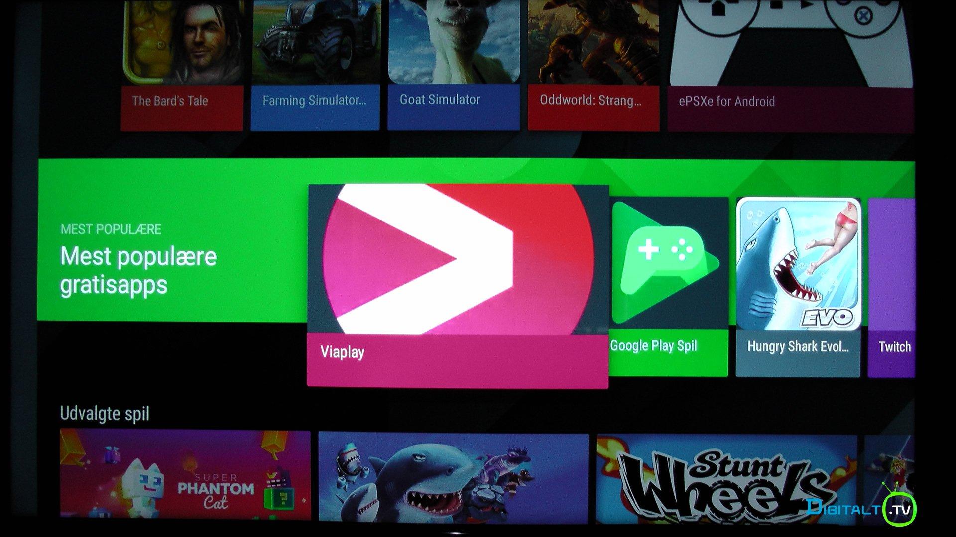 sony tv viaplay app