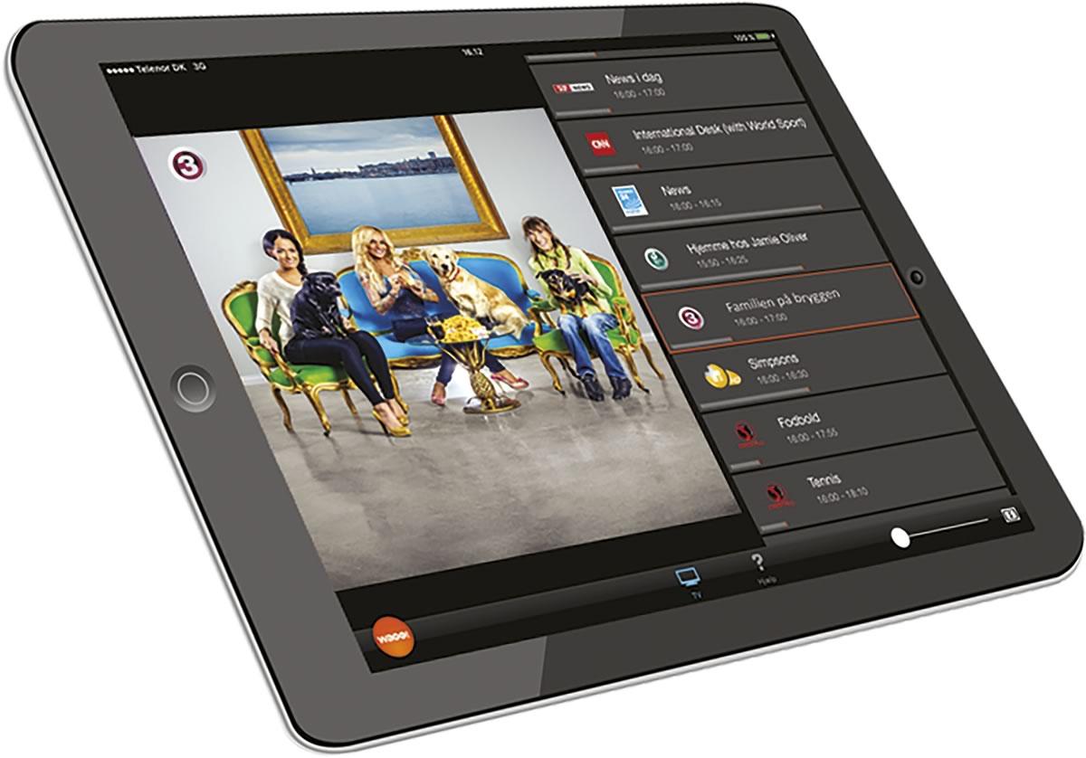 Waoo Web TV - iPad