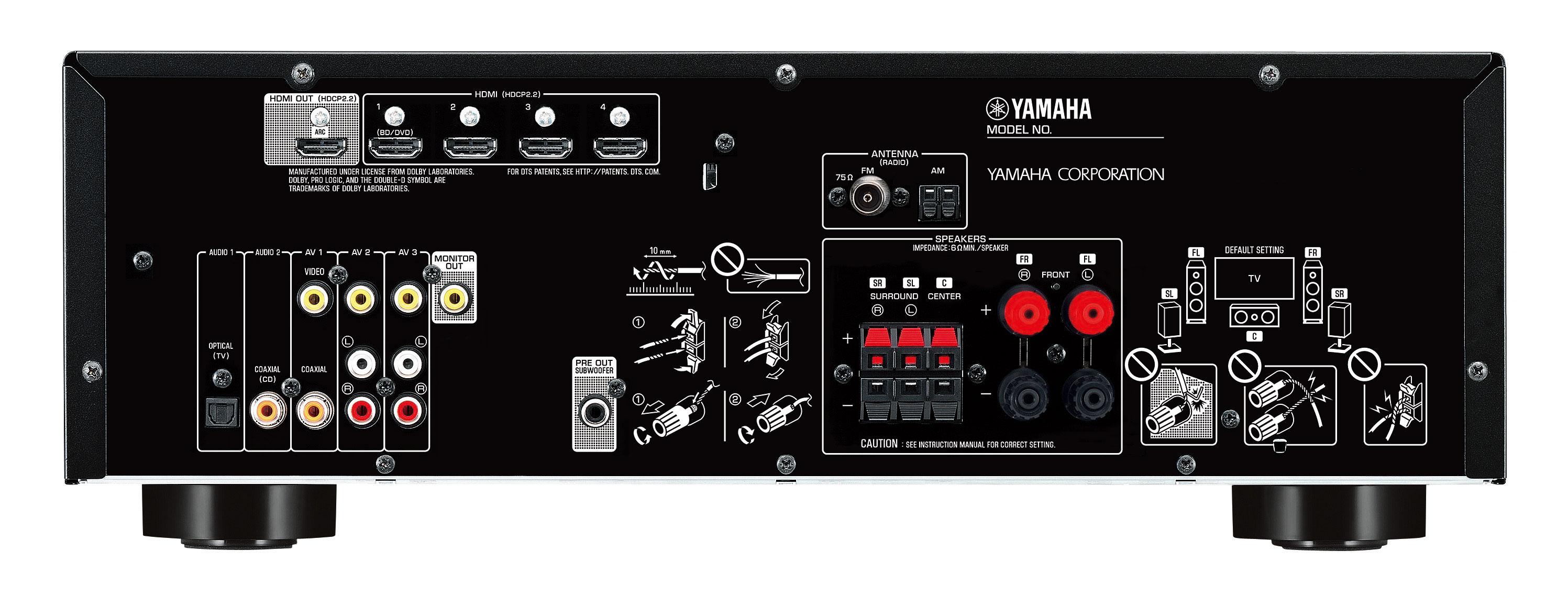 Yamaha RX-V383 bag