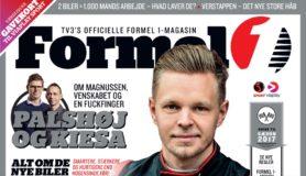 Foto af Egmont i nyt Formel 1 magasin samarbejde med TV3 Sport
