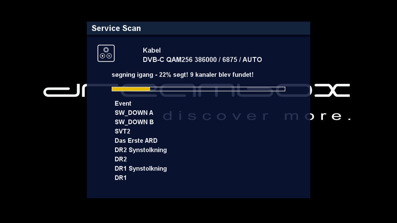 DM525 kanalssogning i gang