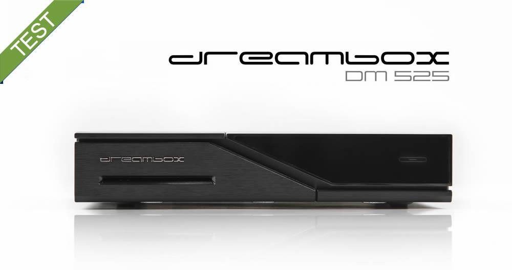 Dreambox DM525 Test 1