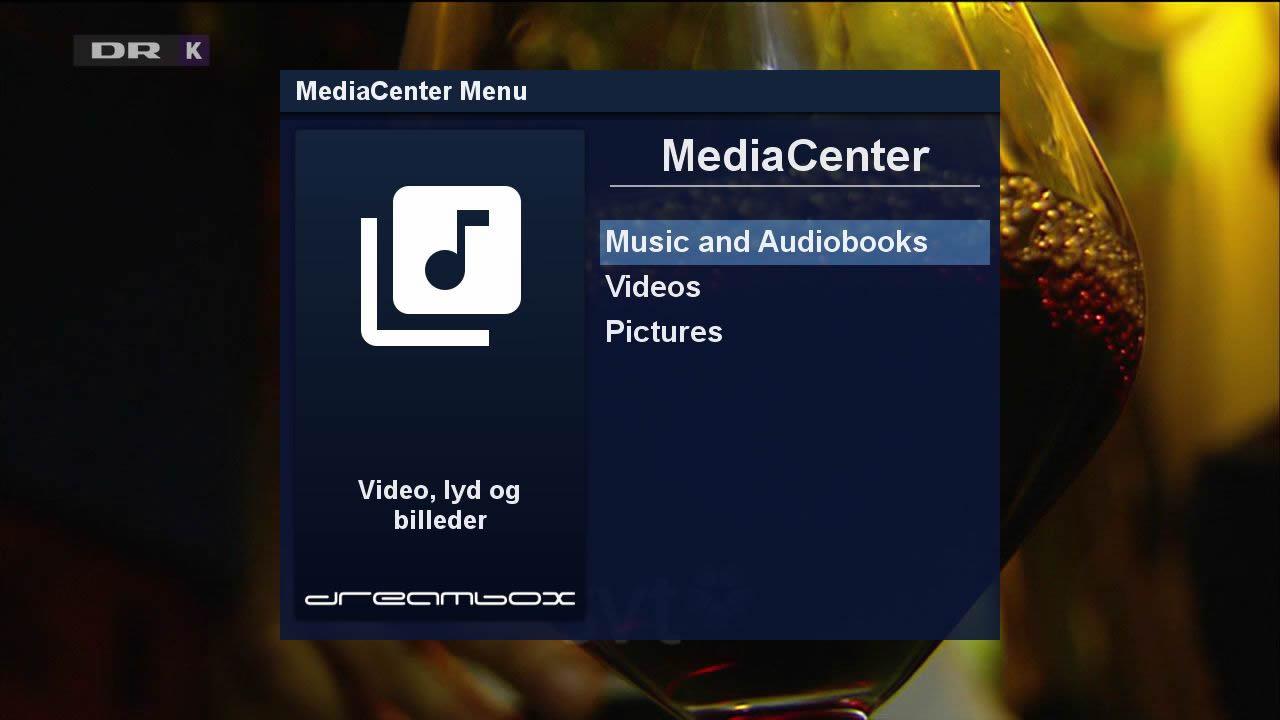 Dreambox Mediacenter