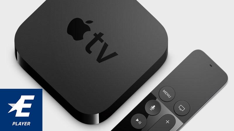 Eurosport Player Apple TV 4