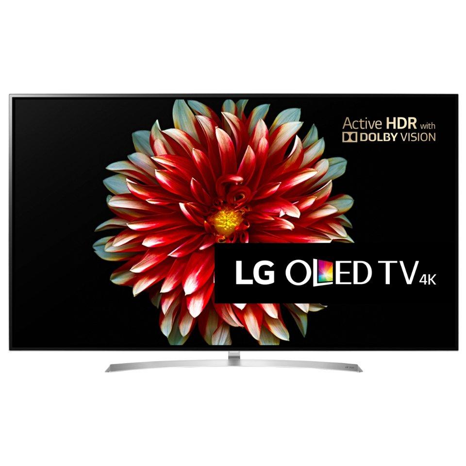 LG OLED55B7V front