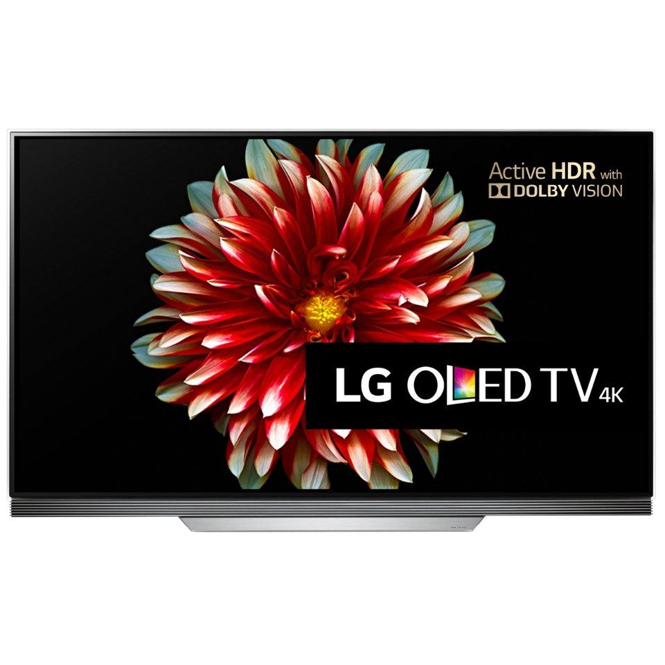 LG OLED55E7V front