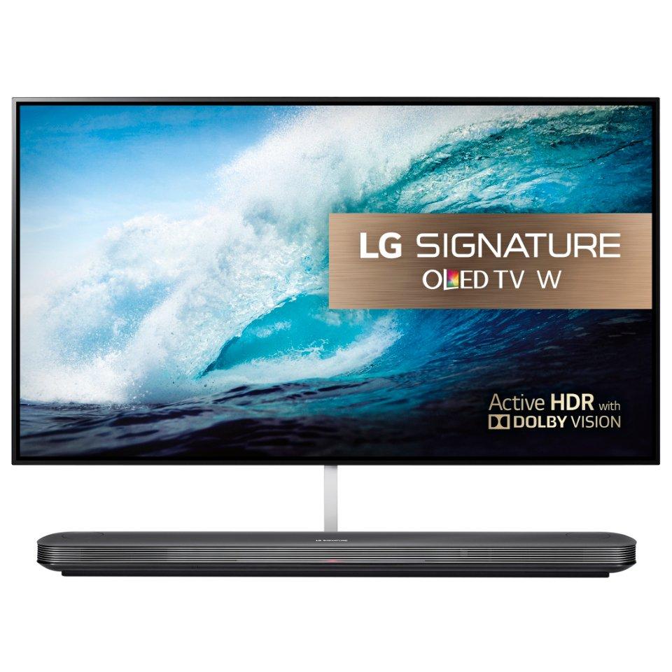 LG OLED65W7V front