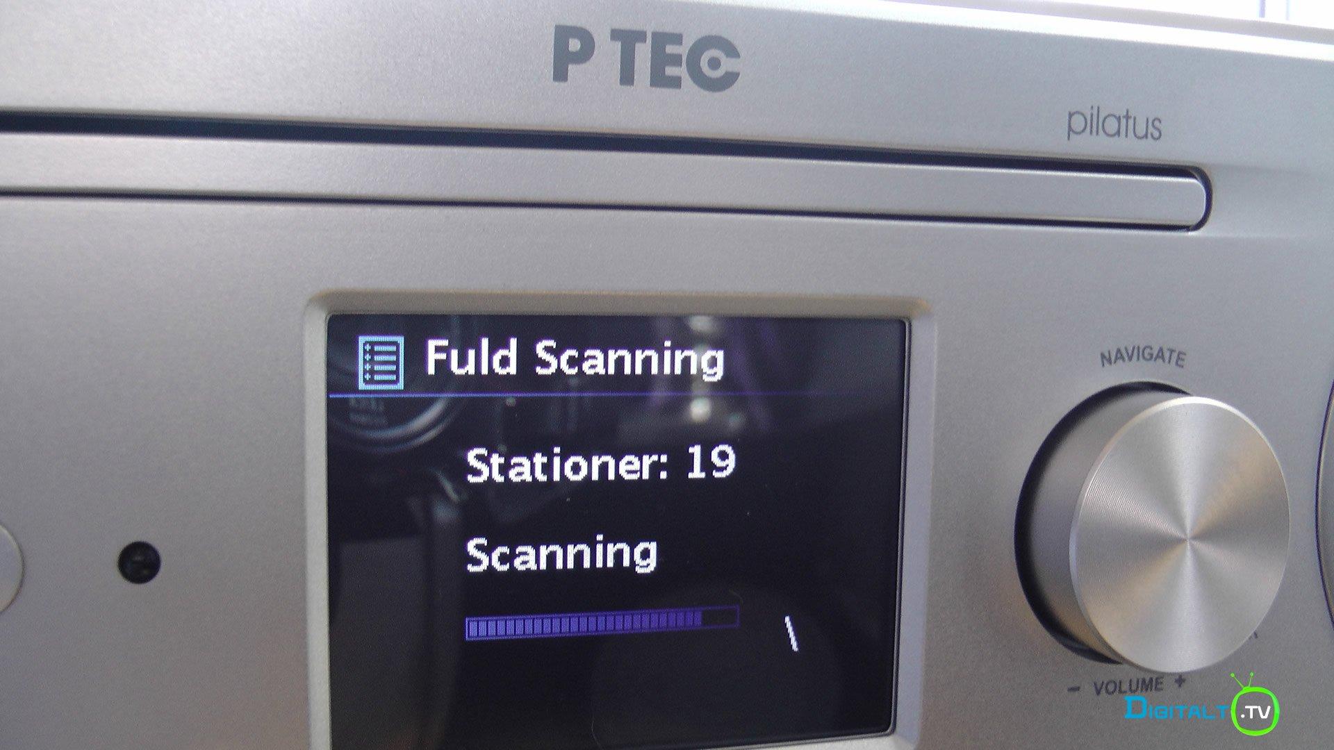 Pilatus dab scanning