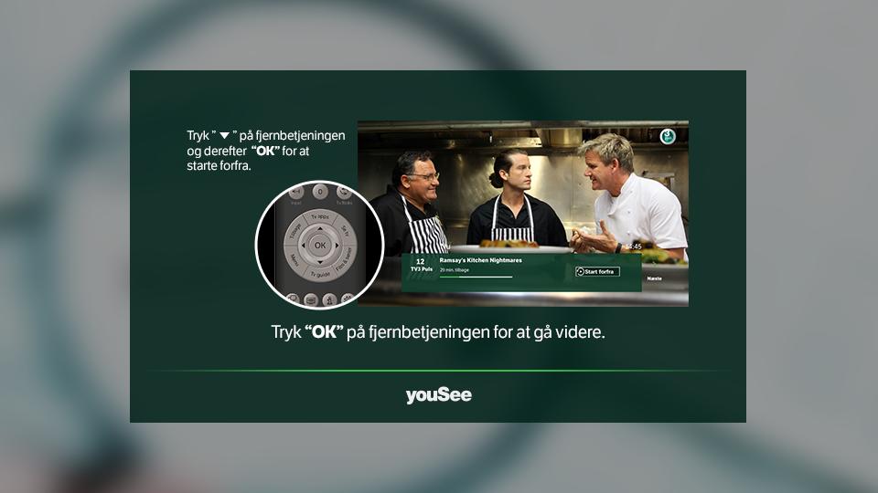 YouSee DSL TV Start Forfra