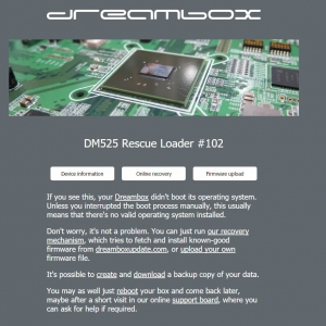 dreambox firmware install