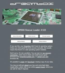 DM900 image install